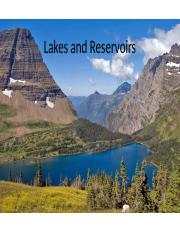 Lecture14 - Lakes and Reservoirs.pptx