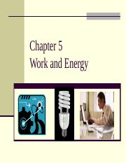 Chapter5WorkandEnergy