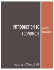 4. Introduction to economics - 10 DEC 2015 - Dr Lilian Chan.pdf