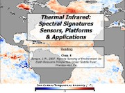 021511 - Thermal Infrared - Spectral Signatures, Sensors, Platforms and Applications