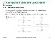 Lecture 2 -Convolution Sum and Convolution Integral-EGR331_2_FA2014