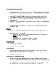 01_Notes for Introduction to Pediatrics PP and Lecture Audio.docx