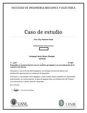 Tarea 6 - First City National Bank.docx