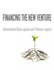 ppt-Information-Risk-Capital-and-Venture-Capital