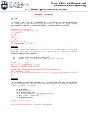 Tutorial One_Solutions.pdf