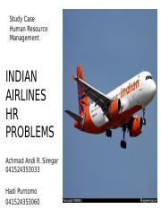 India Airlines HR Problems.pptx