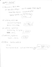 Enas 194 Problem Set 12 Solutions