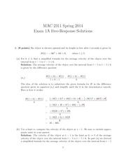 Exam-1A-Solutions