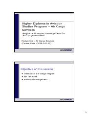 Air Cargo Services Part 5 - Region and Airport Development  for Air Cargo Business.pdf