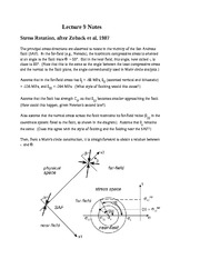 Lecture 9 Notes Stress Rotation