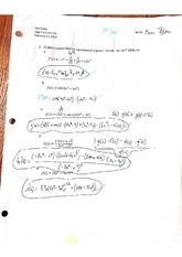 Trigonometric Derivatives Quiz with Answers