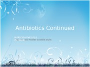 antibiotics part II_1