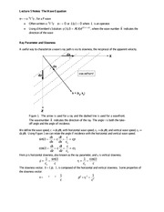 Lecture 5 Notes The Wave Equation