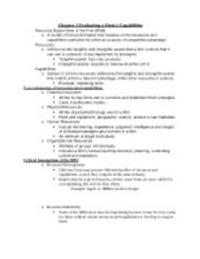 Strategu Study Guide Chapter 3