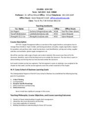 SCM 355 Syllabus Fall 2015(1)