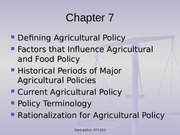 Chapter+7+US+Farm+Policy