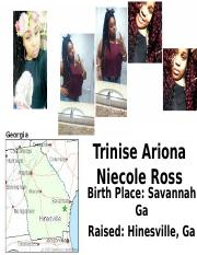 Trinise Ariona Niecole Ross