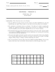 Midterm Solutions Winter 2017 2