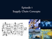 Supply Chain Concepts