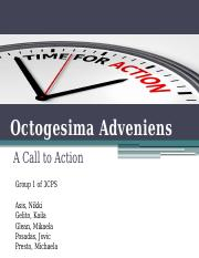 THED5-Octogesima-Adveniens