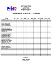 CONSOLIDATION OF MONTHLY ATTENDANCE.doc