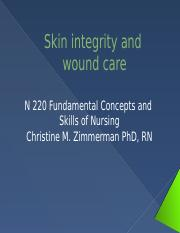 Skin integrity and Wound care 2014 SV(1).pptx
