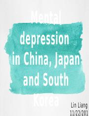 depression in east asia