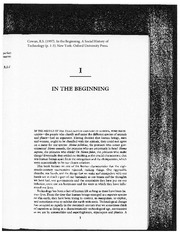 Cowan_In_the_the_Beginning