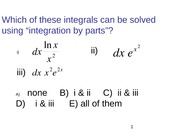 1_2-Clickers-Sperical and Polar coordinates