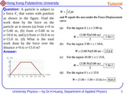 University Physics I Tutorial 3