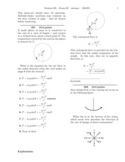 Exam 2 -solutions
