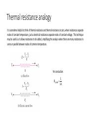 3 thermal resistance and radial conduction