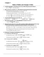 Chem 101 Book Answers (Ch.7)