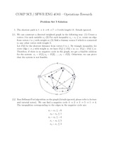 COMP SCI 4003 Solutions for problem set 3