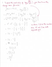 Solution for Sample Quiz 5