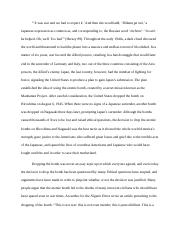 Research Essay Thesis Statement Example  Pages Hiroshima Essaydocx English Essay Samples also Learn English Essay Writing What Are The Arguments That Have Been Presented Against Using The  My English Essay
