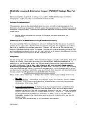 FRAJO Warehousing & Distribution Company ITSP Part 1 Assignment (1).pdf