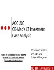 #12 CH8 MOODLE FLIP CASE ACC200 LTC Investment Decisions - Fall 2015.pptx