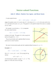 24-Vector-Valued Functions