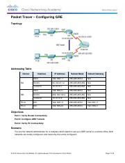 7.2.2.3 Packet Tracer - Configuring GRE Instructions.pdf
