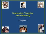 MKTG 360 Segmentation and Targeting Lecture