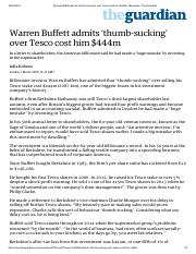 Warren Buffett admits thumb-sucking over Tesco cost him $444m _ Business _ The Guardian.pdf