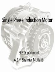 06- Single Phase Induction Motor