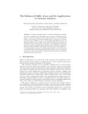The Enhanced Suffix Array and Its Applications to Genome Analysis.pdf