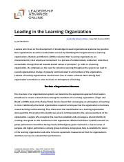 Leading a learning org.pdf