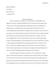Rhetorical Analysis: Marijuana Legalization.docx