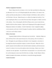 self analysis essays