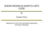 slides Shear Design AASHTO