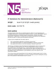 CfE_Unit_N5_AdministrationandIT_ITSolutionsforAdministrators