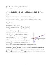 Math 1120 3.6 Derivitaves of Logarithmic Functions 092.doc